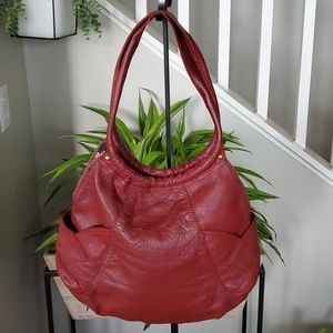 Lucky Brand Burgundy Hobo Bag